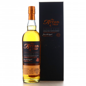 Arran 1996 Single Bourbon Cask #637 / Distillery Exclusive