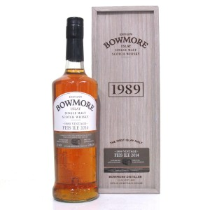 Bowmore 1989 Bourbon Cask 24 Year Old / Feis Ile 2014