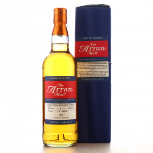 Arran Napoleon Cognac Finish Single Cask