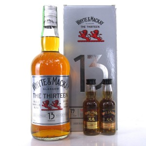 Whyte and Mackay 13 Year Old / Including 19 and 22 Year Old 5cl Miniatures