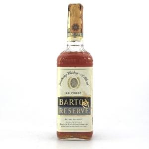 Barton Reserve Kentucky Whisky 1970s