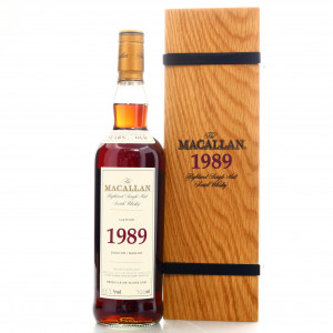 Macallan 1989 Fine and Rare 21 Year Old #3247