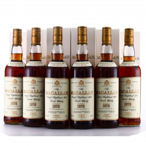 Macallan 1976 18 Year Old 6 x 70cl / Case