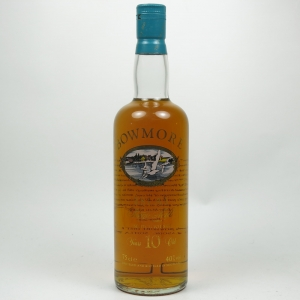 Bowmore 10 Year Old Screen Print Label Front