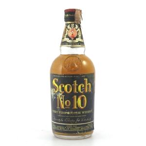 Scotch No.10 Very Fine Scotch Whisky 1960s