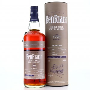 Benriach 1993 Single Rioja Cask 25 Year Old #7881