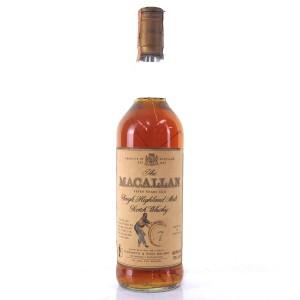 Macallan 7 Year Old Armando Giovinetti Special Selection