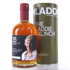 Bruichladdich 2008 Margaret Shaw Valinch 10 Year Old / Mourvedre Red Wine Cask