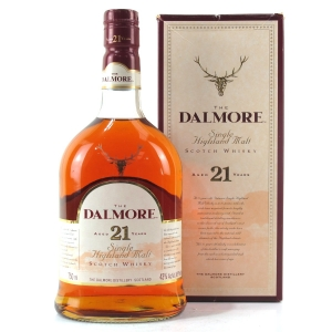 Dalmore 21 Year Old 75cl / US Import
