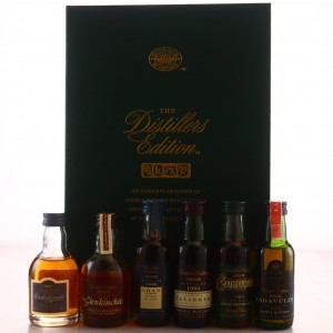 Distillers Edition Classic Malts Miniatures x 6 / First Releases including Lagavulin 1979