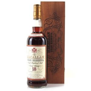 Macallan 1979 Gran Reserva 18 Year Old 75cl / US Import