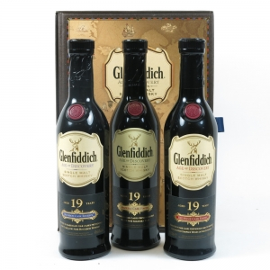 Glenfiddich Age of Discovery Gift Pack 3 x 20cl Front