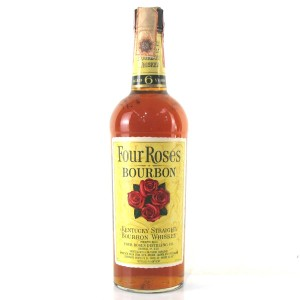 Four Roses 6 Year Old 1970s