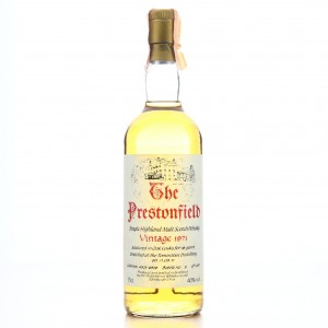 Tomintoul 1971 Prestonfield 18 Year Old