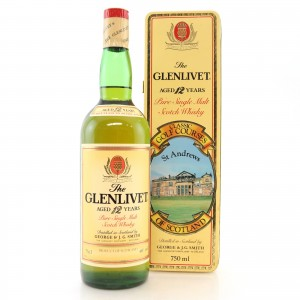 Glenlivet 12 Year Old Classic Golf Courses 1980s / St Andrews
