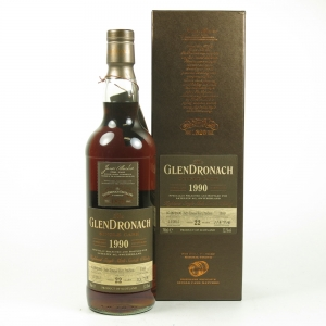 Glendronach 1990 Single Cask 22 Year Old Front