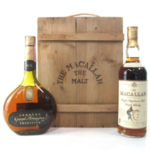 Macallan 7 Year Old & Janneau VS Giftpack / Giovinetti Import