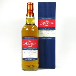 Arran Limited Edition Napoleon Cognac Cask