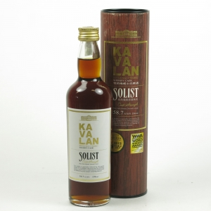 Kavalan Solist Cask Strength 19.6cl Front