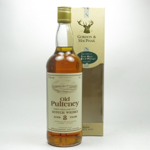 Old Pulteney 8 Year Old Gordon and MacPhails