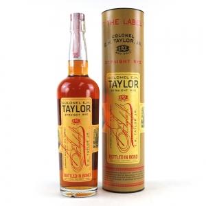 *SEpt - Colonel E.H Taylor Straight Rye