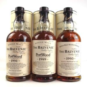 Balvenie Port Wood 3 x 70cl