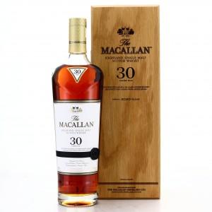 Macallan 30 Year Old Sherry Oak 2020 Release