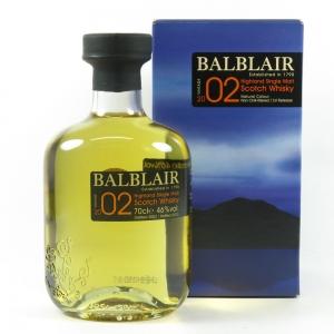 Balblair 2002 front