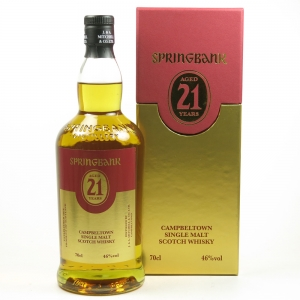 Springbank 21 Year Old Open Day Bottling