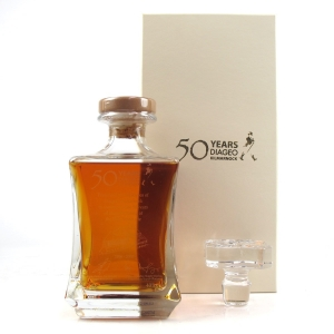 Diageo Hill Street 50th Anniversary Decanter