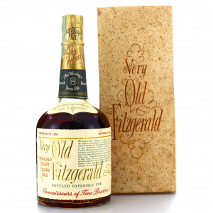 Very Old Fitzgerald 1961 Bonded 8 Year Old 100 Proof / Stitzel-Weller