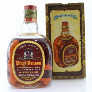 King's Ransom Scotch Whisky 1960s