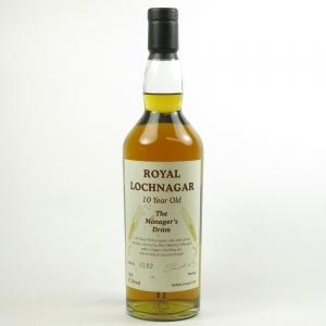 Royal Lochnagar 10 Year Old Manager's Dram 2006