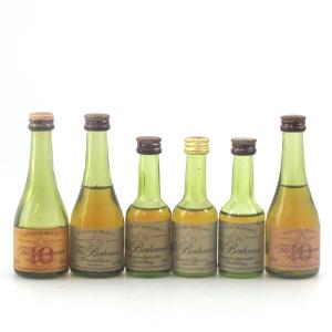 Balvenie Founder's Reserve Cognac Bottle Miniatures 6 x 5cl