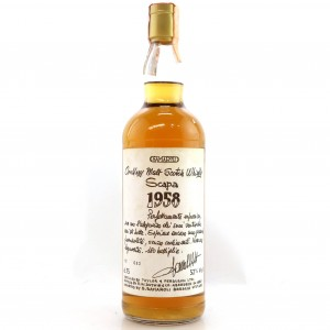 Scapa 1958 Samaroli 52% / Handwritten Labels