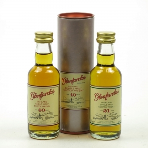 Glenfarclas 40 Year Old and 21 Year Old 2 x 5cl