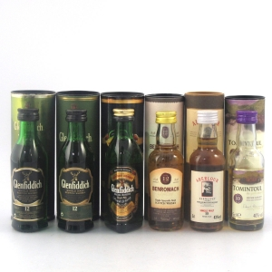 Speyside Miniature Selection 6 x 5cl