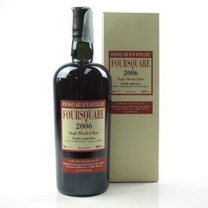 Foursquare 2006 Cask Strength / Bourbon and Cognac Matured