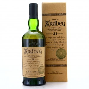 Ardbeg 21 Year Old Committee Release 2001