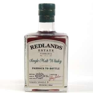 Redlands Estate Single Malt Whisky 50cl