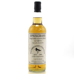 Springbank 10 Year Old / Machrihanish Golf Club 125th Anniversary