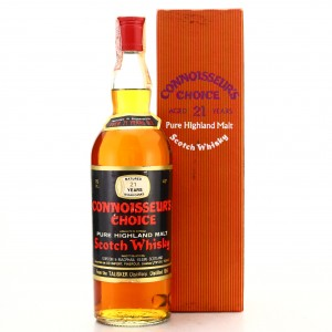 Talisker 1951 Gordon and MacPhail 21 Year Old / Co. Pinerolo Import