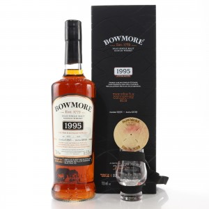 Bowmore 1995 Single Cask 23 Year Old / Feis Ile 2019 with Glass & Bung