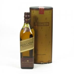 Johnnie Walker Gold label 18 Year Old 20cl