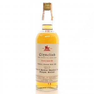Clynelish 12 Year Old Ainslie and Heilbron 1960s / Di Chiano Import