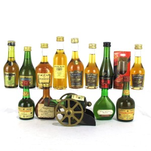 Cognac & Armagnac Miniatures x 14