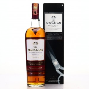 Macallan Whisky Maker's Edition Finest Cut / Nick Veasey Six Pillars