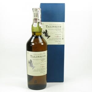 Talisker 25 Year Old 2005 Release