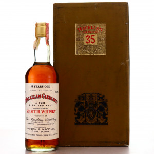 Macallan 35 Year Old Gordon and MacPhail early 1980s / Co. Pinerolo Import