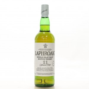 Laphroaig 11 Year Old / Friends of Laphroaig 10th Anniversary - Signed